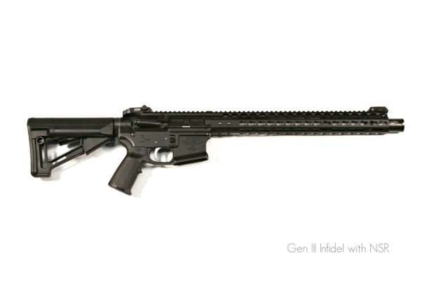 "Noveske Infidel Gen III Rifle 13.7"" Pinned - Black"