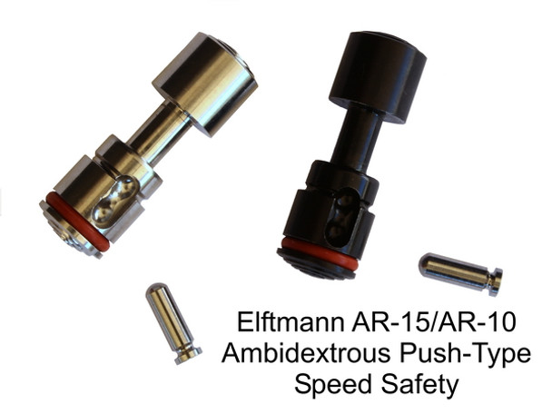 ELF AR-15 / AR-10 Ambidextrous Speed Safety Stainless Steel