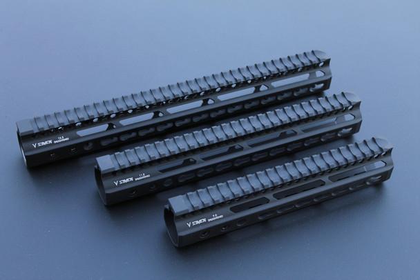 "V Seven Weapons Enlightened Keymod Handguard 7"""
