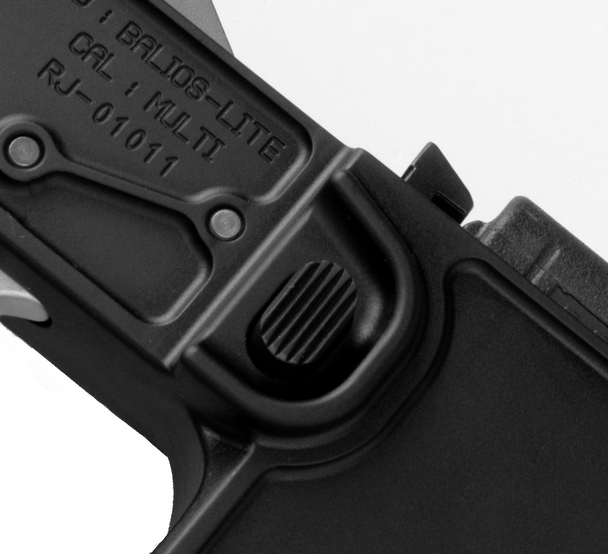 2A Magazine Catch Assembly - Groved Button and Catch