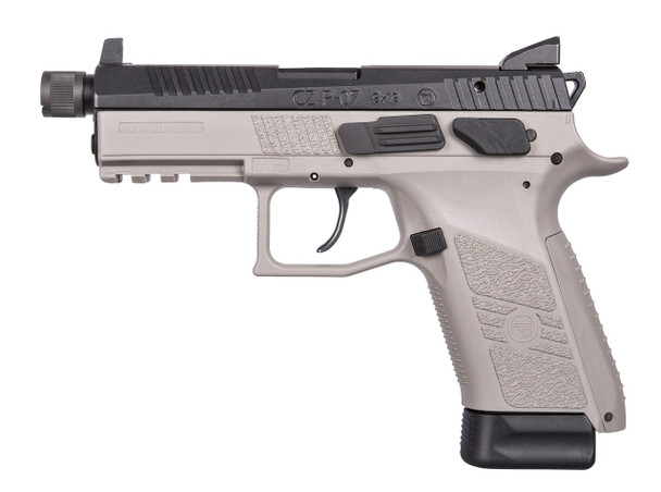 CZ P-07 Urban Grey Suppressor Ready 9mm
