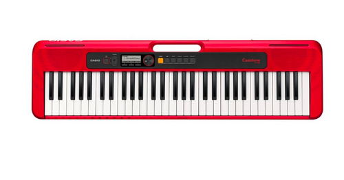 Casio Casiotone CT-S200 Portable Keyboard - Red