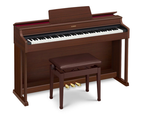 Casio Celviano AP-470 Digital Piano - Brown Walnut