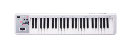 Roland A-49 MIDI Controller Keyboard - White