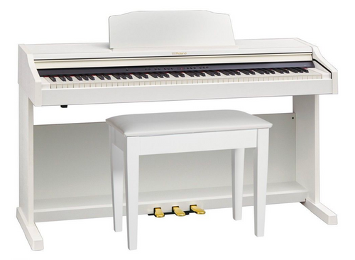 Roland RP501R Digital Piano - White
