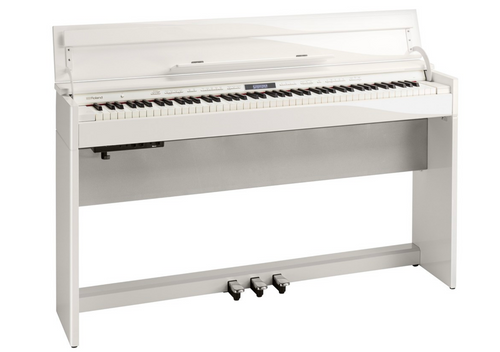 Roland DP603 Digital Piano - Polished White