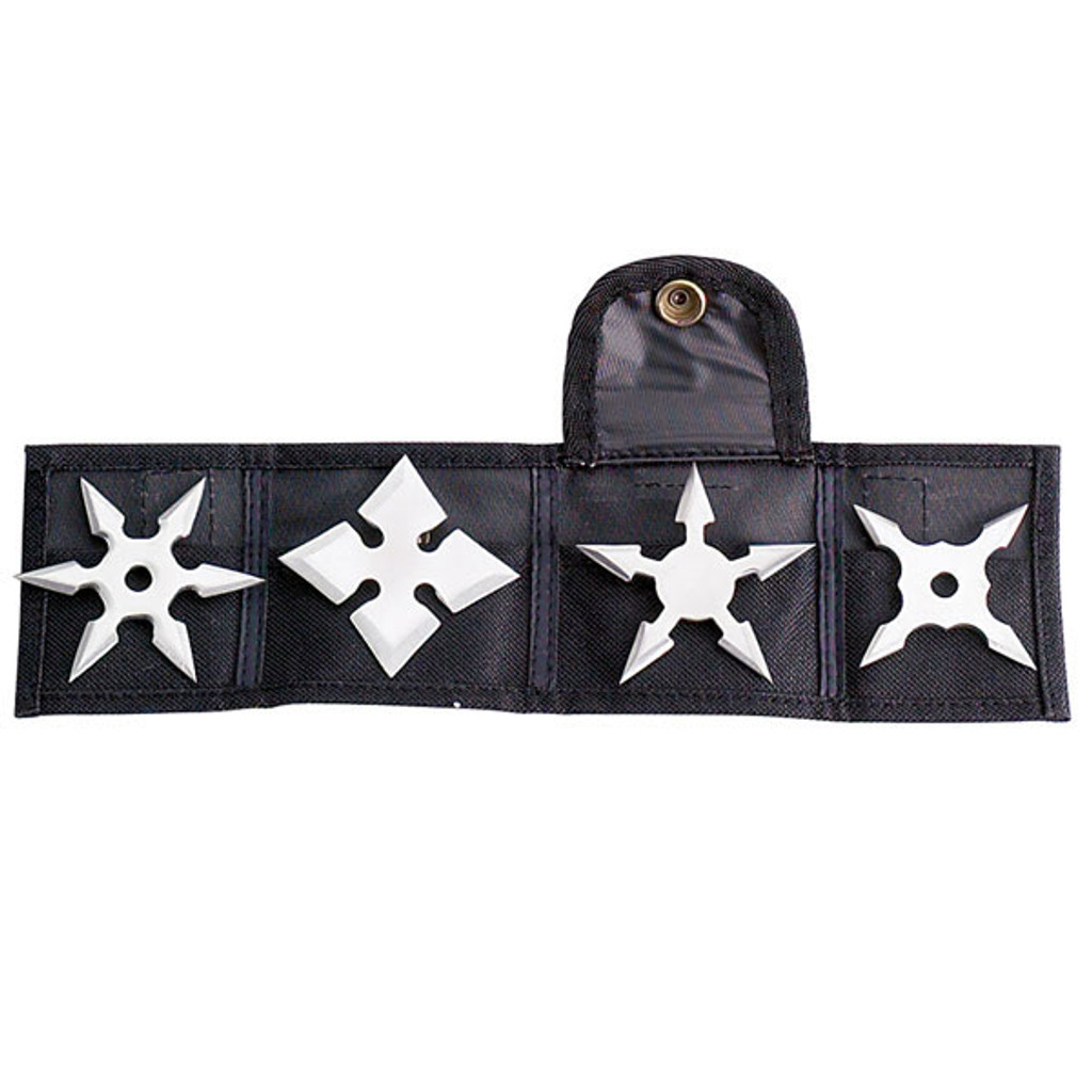 "2.5"" Multi-Point Ninja Throwing Star - 4-pack @ Zenjo.co.nz"