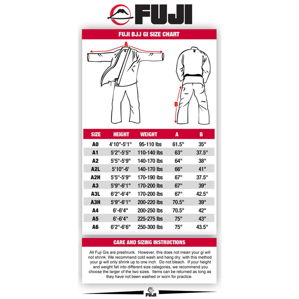 Fuji BJJ Tournament Gi