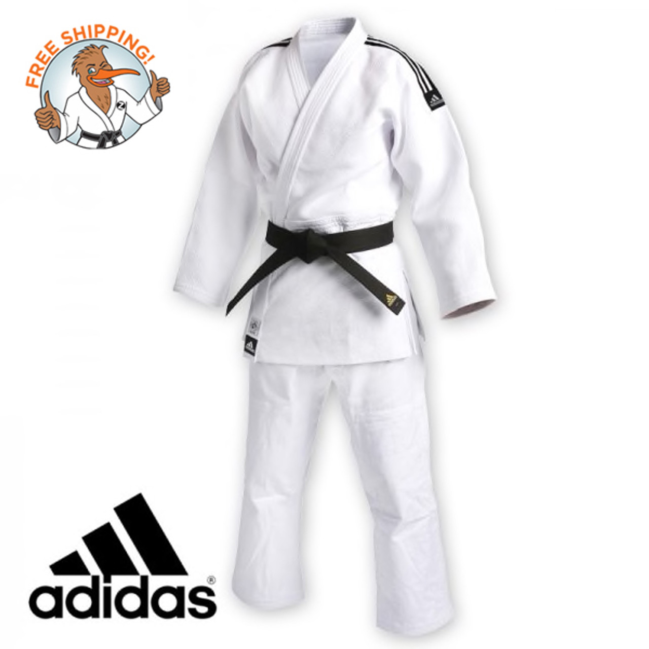 tirano menta papel  Adidas Judo Uniform - 930S IJF Competition Gi - White, 1 ONLY