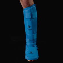 Tokaido WKF Shin and Foot Protector - Blue