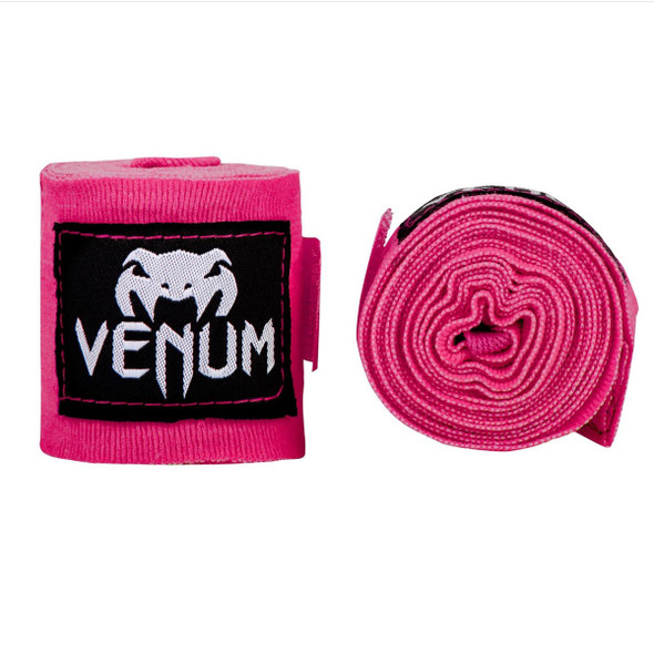 Venum Kontact Boxing Handwraps 4m - Neon Pink