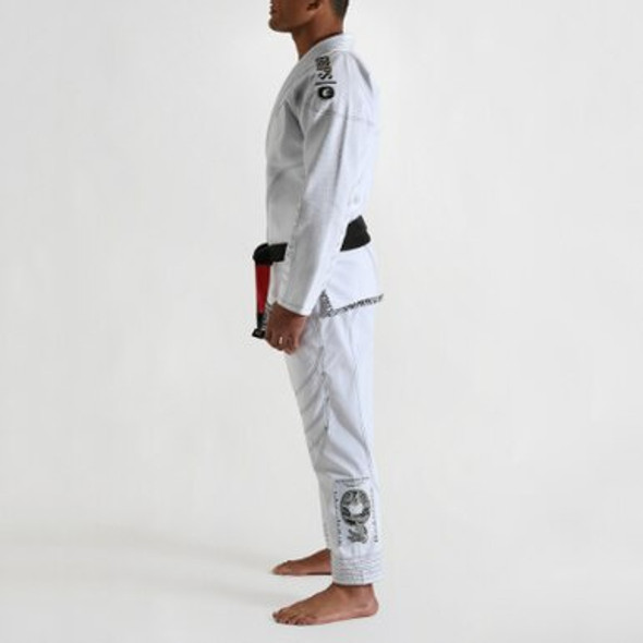 GR1PS Armadura BJJ GI - WHITE