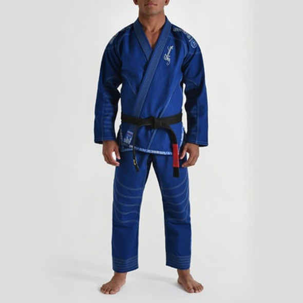 GR1PS Armadura BJJ GI - ROYAL BLUE