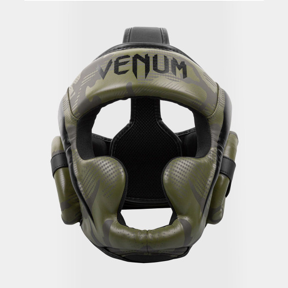 Venum Elite Boxing Headgear (Khaki/Camo)