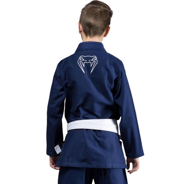 Venum Contender Kids BJJ Gi (Navy Blue)
