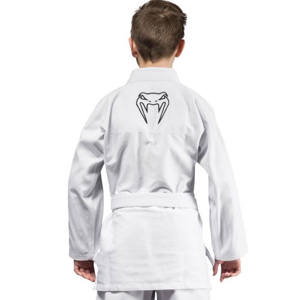 Venum Contender Kids BJJ Gi (White)