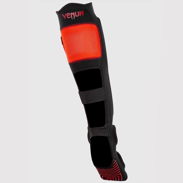 Venum Kontact Evo Shin & Insteps (Red/Black)