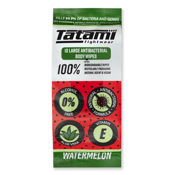 Tatami Antibacterial Body Wipes (Watermelon)
