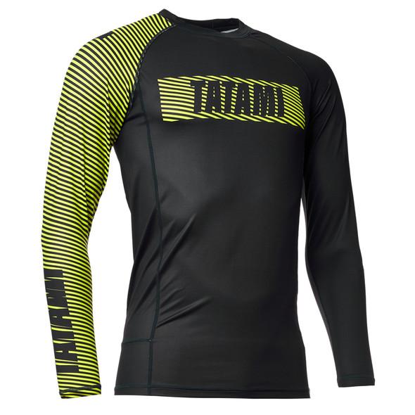 Tatami Essential 3.0 Rashguard (Yel/Blk)