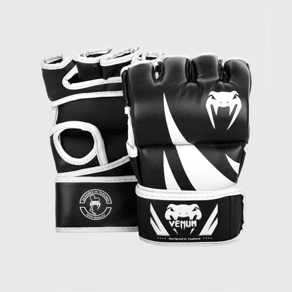 Venum Challenger 4oz MMA Gloves without Thumb (White)