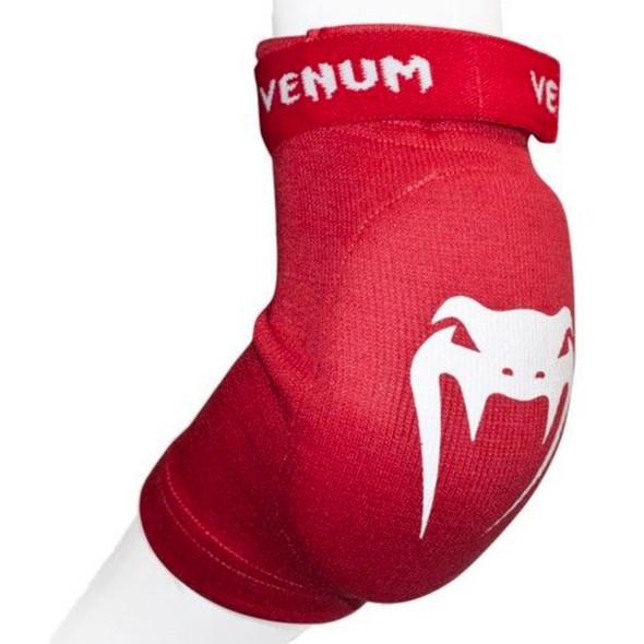 Venum Kontact Elbow Protectors (Red)