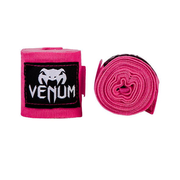 Venum Kontact Boxing Handwraps 2.5m - Neon Pink
