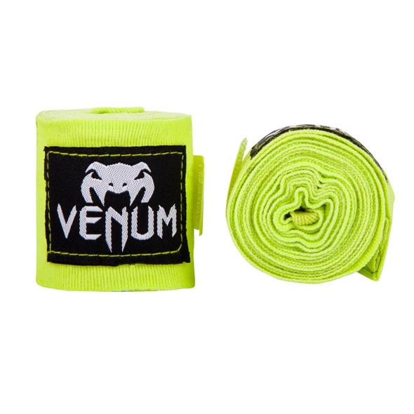 Venum Kontact Boxing Handwraps 4m - Neon Green