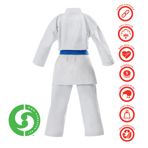 CORE Karate Gi – 10-oz Green Label