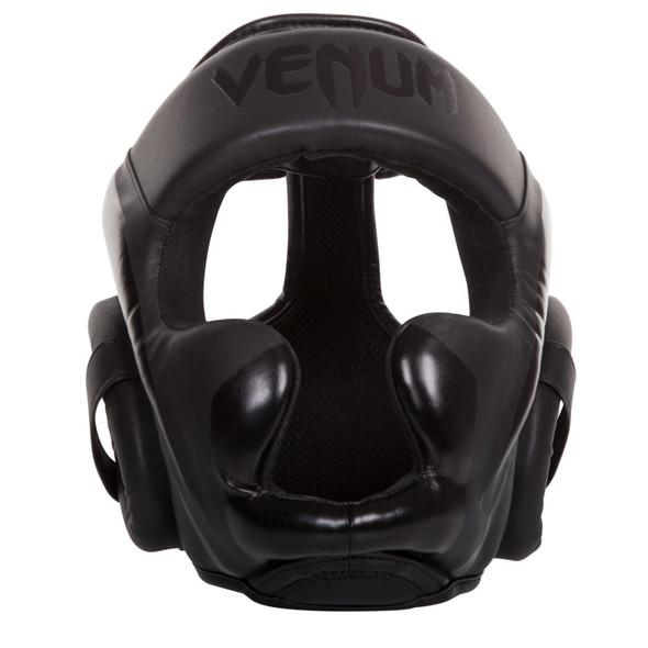 Venum Elite Boxing Headgear (Matte Black)