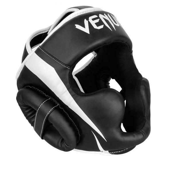 Venum Elite Boxing Headgear (Black/White)
