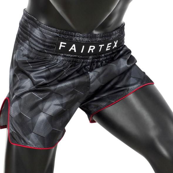 """Fairtex Muay Thai """"Stealth"""" Fight Shorts"""
