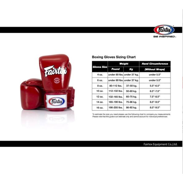 Fairtex Microfibre Gloves BGV14