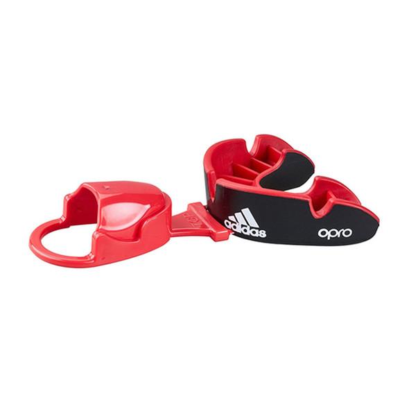 Adidas Junior Black Opro Silver Mouthguard