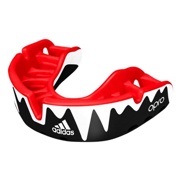 Adidas Senior Black Opro Platinum Mouthguard