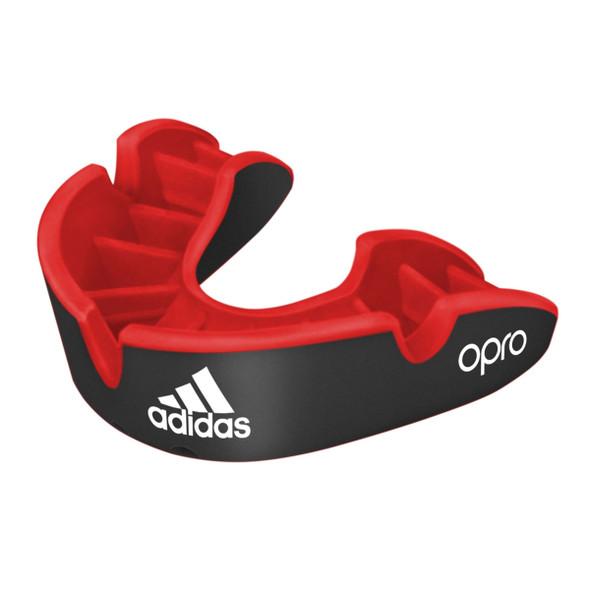 Adidas Senior Black Opro Silver Mouthguard