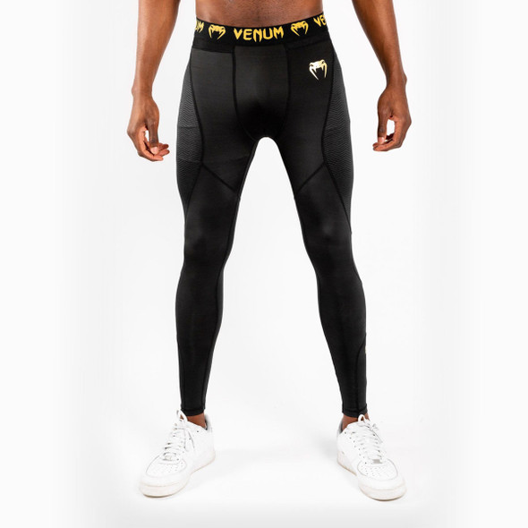 Venum G-FIT Spats - Black/Gold