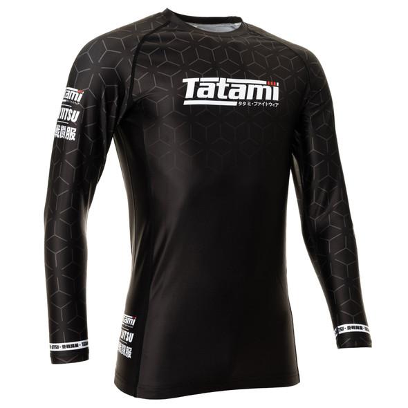 Tatami Ranked IBJJF 2021 L/S Rashguard (Black)