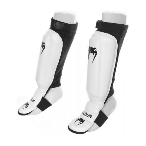 Venum 360 MMA Shin Guards (White)