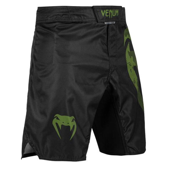 Venum Light 3.0 Fightshorts (Black/Khaki)
