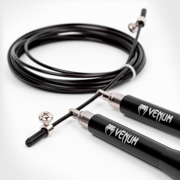 Venum Thunder Evo Jump Rope (Black)