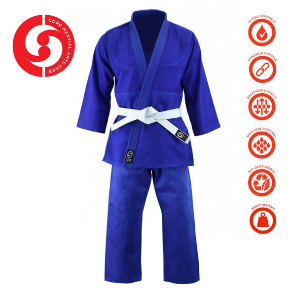 CORE Judo Single Weave Blue Uniform
