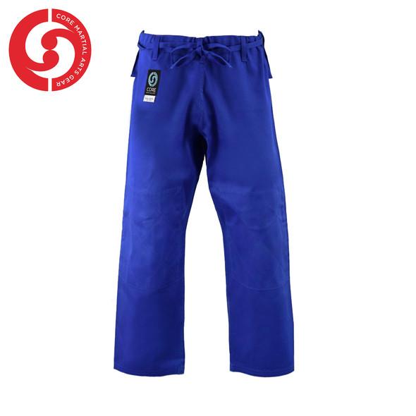 CORE Judo Single Weave Blue Uniform pants padded knees