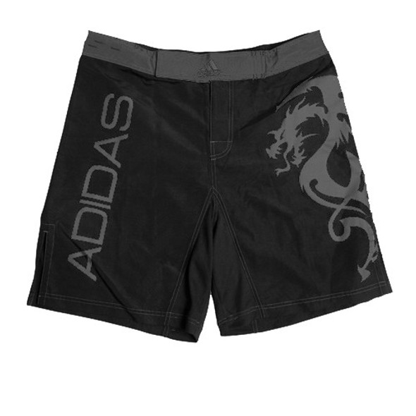 ADIDAS DARK SILVER DRAGON MMA SHORTS
