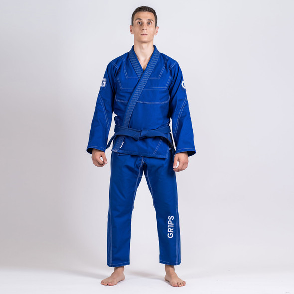 GR1PS Leo Cor BJJ Gi - Blue