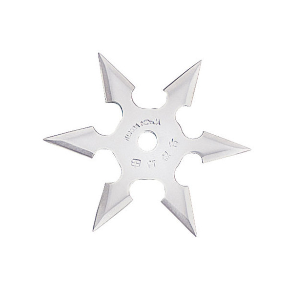 "4"", 6 point throwing star"