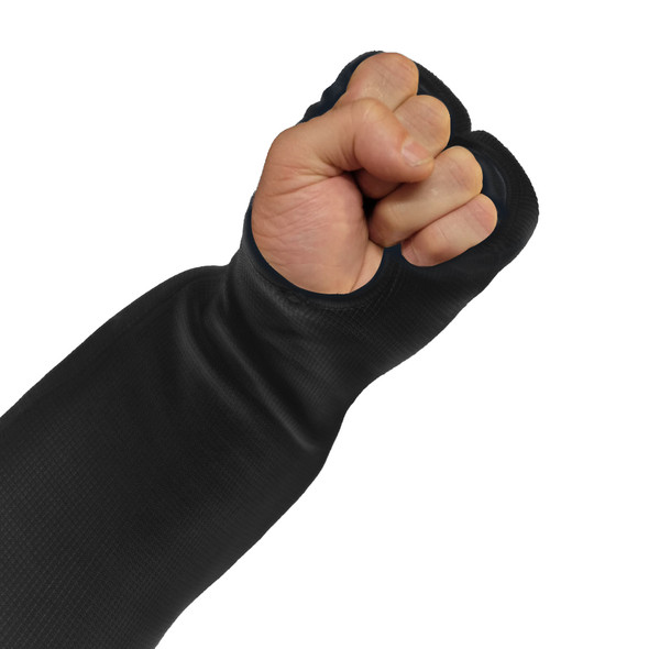 Cotton Fist and forearm protector in black