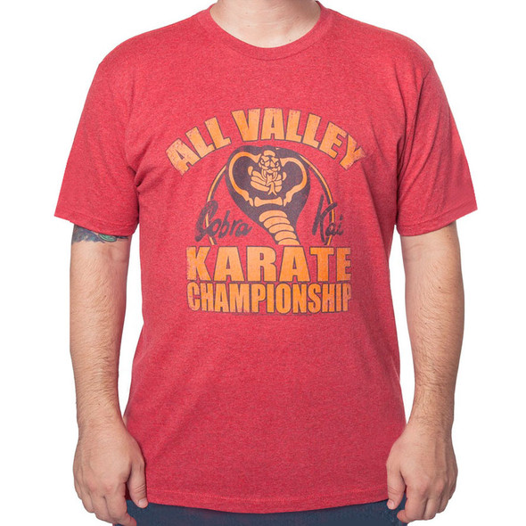 Cobra Kai All Valley Karate Championship Tee