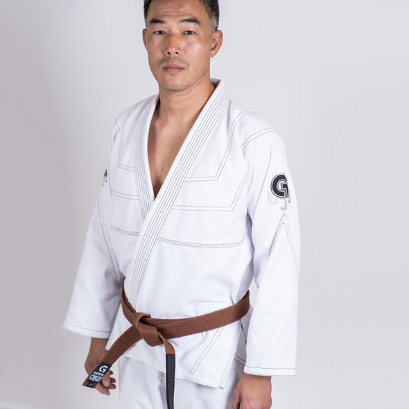 GR1PS Leo Cor BJJ Gi - White