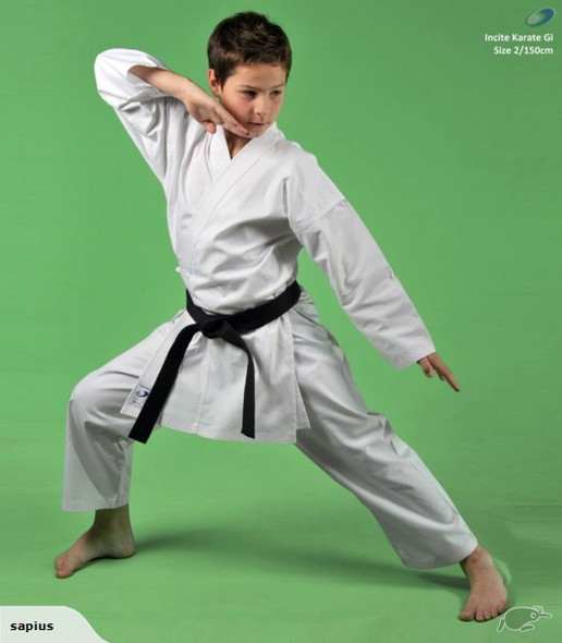 Sapius Incite 8oz Karate Uniform