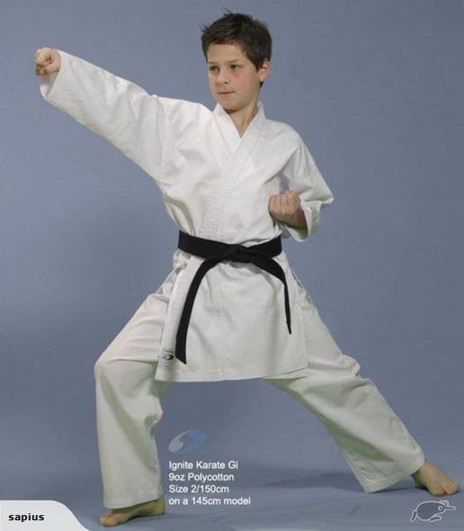 Sapius Ignite 8oz Karate Uniform